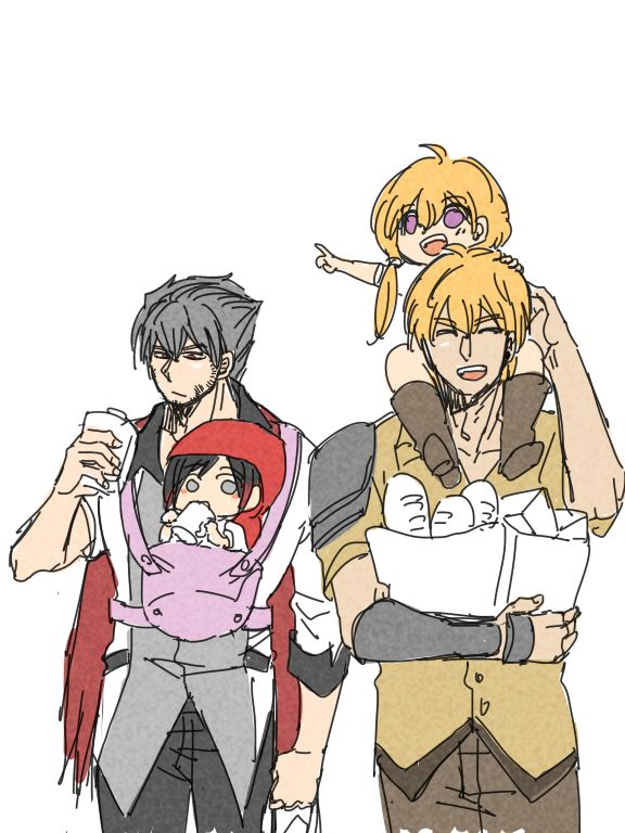 tumblr_nyqmmjdpG71stjifwo2_1280.jpg (576×768). Uncle Qrow and ruby and tans and their dad