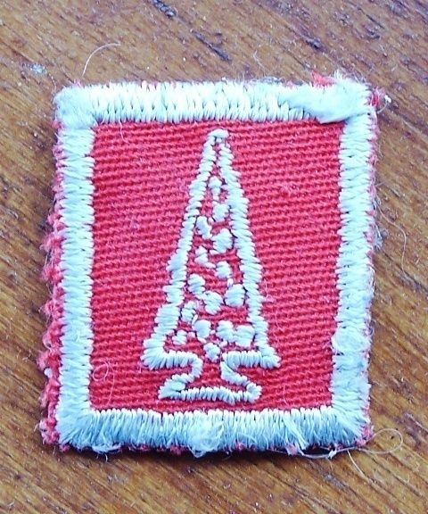 Old Red Tree Award Boy Scouts Girl Guides Patch. Christmas Tree. Collectible patch only $6.95 OBO