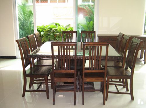 Best 20 8 seater dining table ideas on pinterest made to measure furniture restaurant - Seater square dining table ...