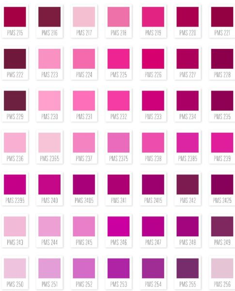 En la actualidad hay 50 tonalidades de rosa, los más conocidos son el rosa bebé, rosa suave, rosa pastel, rosa flamenco, frambuesa, fucsia, magenta... Y los menos conocidos son el rosa lechón, rosa mazapán, rosa lombriz, Pamporcino, Brezo...  Crea Design: Estudio de Interiorismo y un poquito de Gráfico: El color Rosa en la decoración