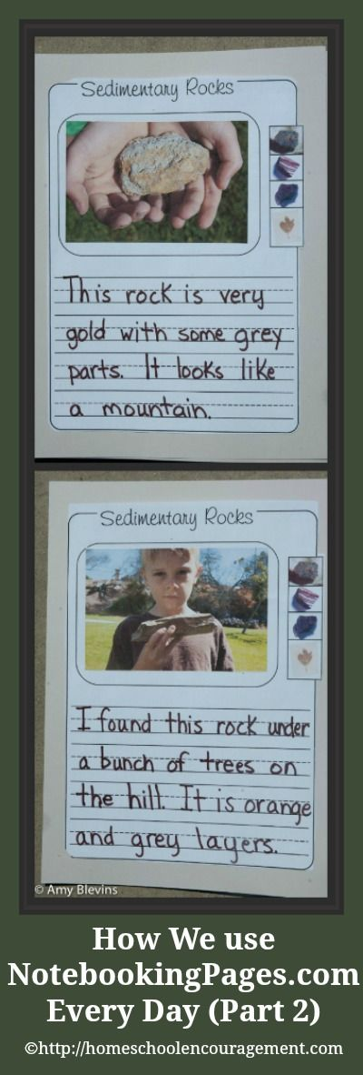 Caleb is just finishing first grade, so for his notebooking we do a lot of narration/dictation and that means I write everything he tells me to write. We use the pages from NotebookingPages.com for this a lot! #homeschool #notebooking