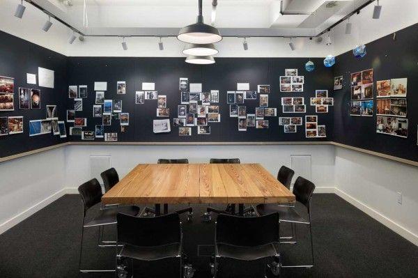 Les bureaux design de la société ICRAVE