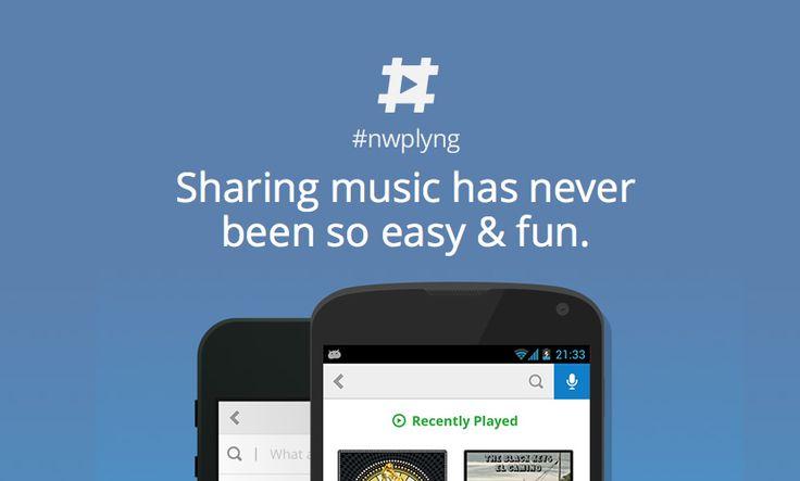 Social music sharing App #nwplyng with gamification