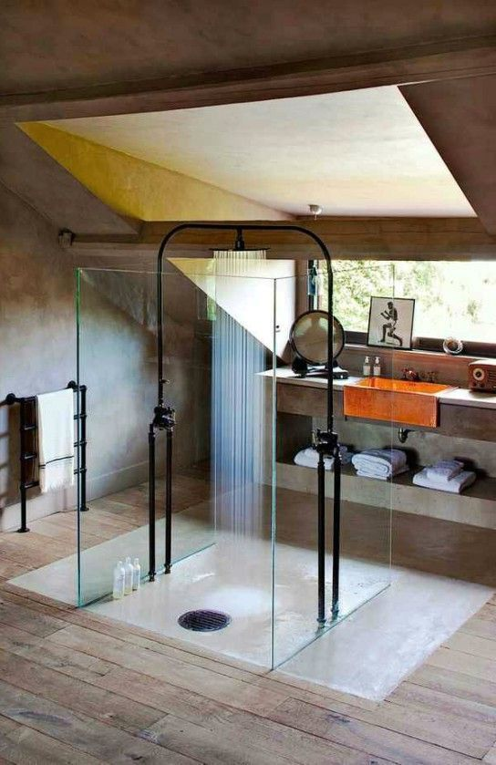 Интерьеры ванной комнаты в индустриальном стиле: nastya_maks