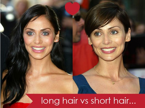 Long hair vs short hair – which do you prefer? Natalie Portman Halle Berry Natalie Imbruglia Audrey Tatou Michelle Williams I love that these women change their looks, and I like them all with long hair and short hair. Except Michelle Williams – short all the way. You may also like... Braids in short hair...Read More »