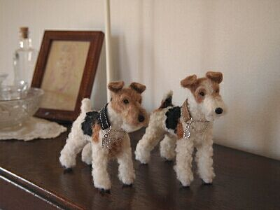felted terriers