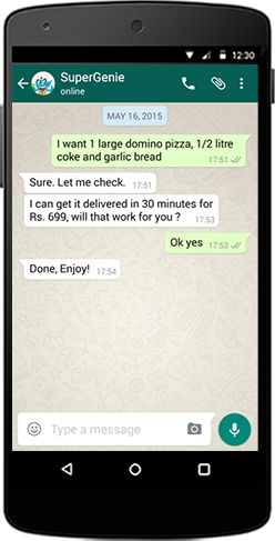 Order Food like a Boss !