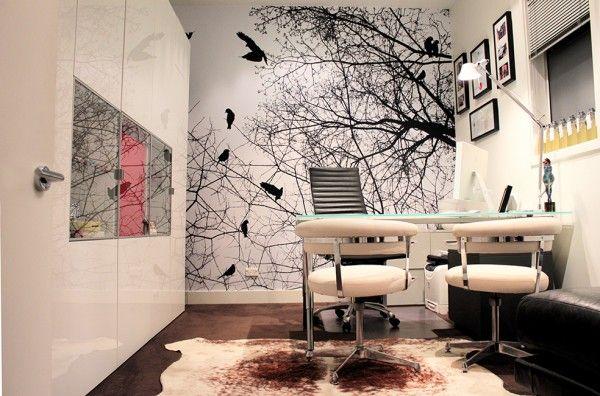 Custom Digital Print Wallpaper - Tree Design
