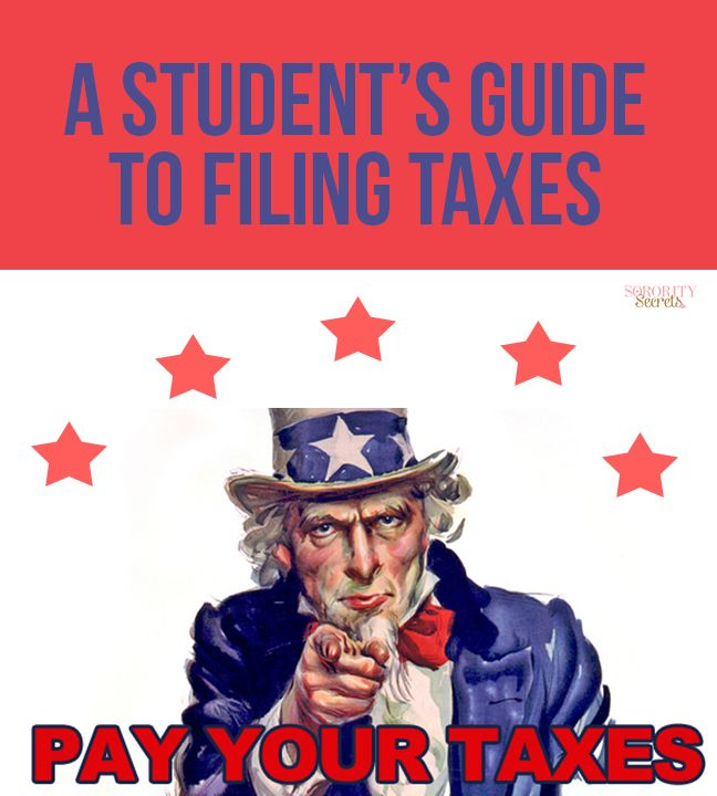 19 best taxes images on pinterest infographics accounting and a students guide to filing taxes ccuart Images