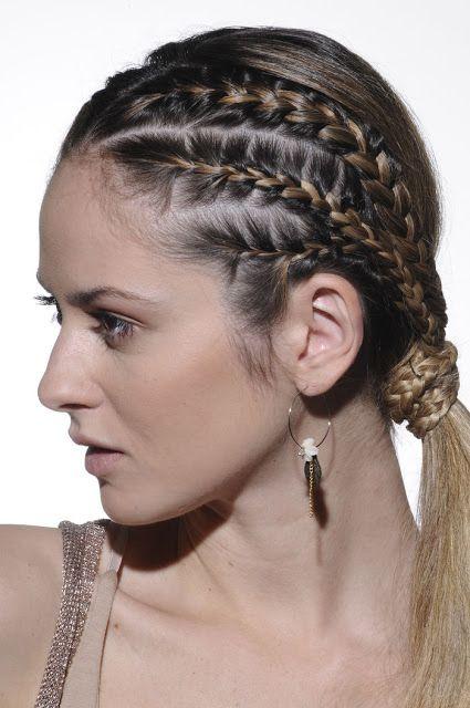 Solo chicas hermosos peinados de trenzas fotos - Chicas con trenzas ...