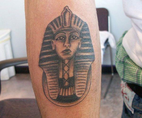 pharaoh head tattoo 20 Majestic Pharaoh Tattoo Designs