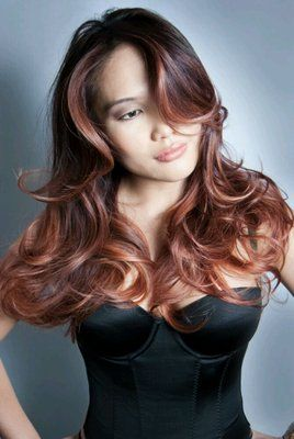 Rosegold ombre <3 I.neeeed to find someone who can give me a seamless ombre with this color!