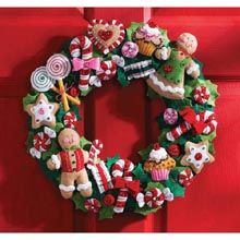 Cookies & Candy Wreath