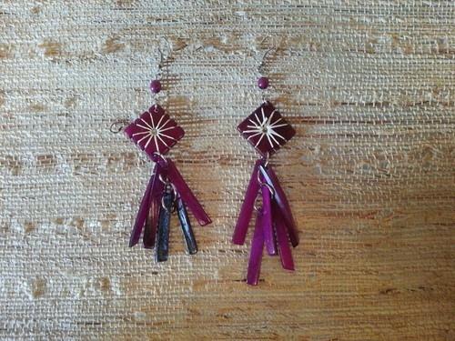 Peruvians Ethnic Wood Earrings | eBay
