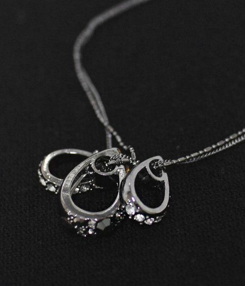 Beautiful Triple RR available in 2 colours  £10.80. Handmade in South Korea. Worldwide Delivery. #Necklaces #Silver #Handmade #Precious #Spring