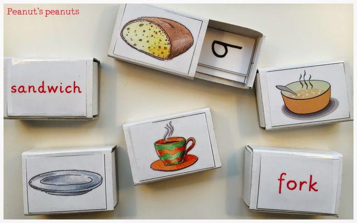 Peanut's peanuts: Leseschachteln - Let's have lunch; 4. Klasse Englisch in der Grundschule