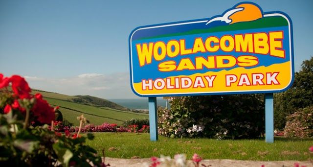 Entrance to woolacombe sands.  Woolacombe Sands Holiday Park   https://www.campsitechatter.com/campsites/pinboard/Woolacombe-Sands-Holiday-Park/5779562952439790689