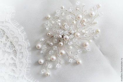 Свадебные украшения ручной работы. Ярмарка Мастеров - ручная работа. Купить…