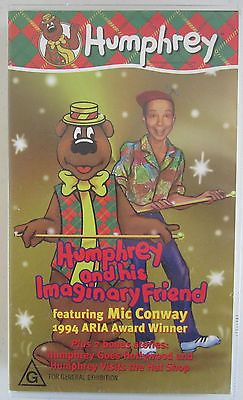 HUMPHREY B BEAR HUMPHREY & HIS IMAGINARY FRIEND RARE PAL VHS VIDEO