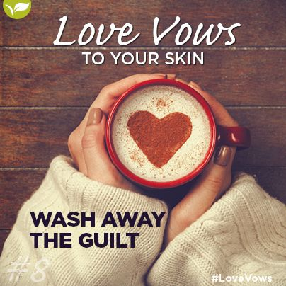 """8.Love Vow no 8: Wash away the guilt.  Beauty treatments are not cheating and should never be seen as a guilty pleasure but instead should be seen as an investment in yourself and your future.   Say """"I Do"""" to loving your skin and start enjoying a glowing life together. Congratulations and best wishes to you both!"""