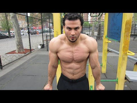 This calisthenics push and pull workout routine done by Eric