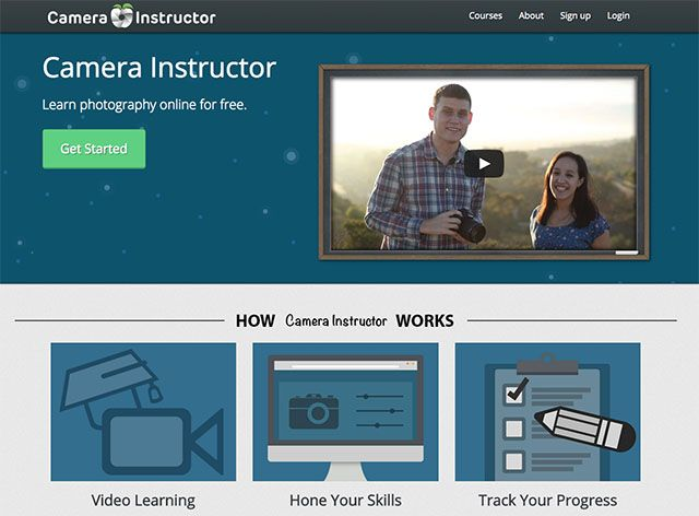 Camera Instructor Offers Free and Interactive Online Courses