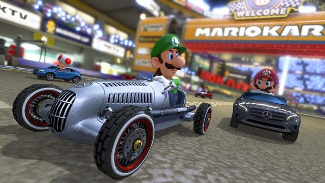 Mercedes-Benz cars confirmed for US version of Mario Kart 8
