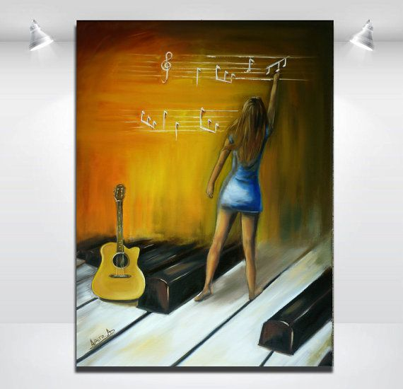 Oil on canvas. Large  contemporary original by artstudioAreti