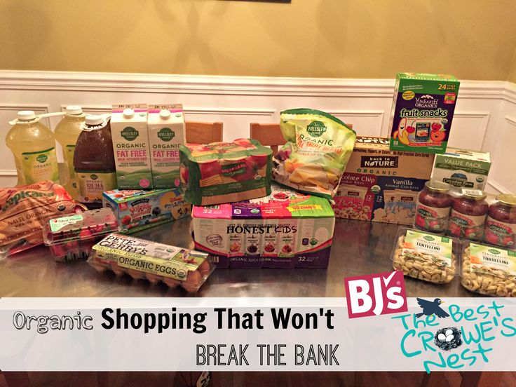 Organic Shopping That Won't Break The Bank {BJ's Wholesale Club Options} - -