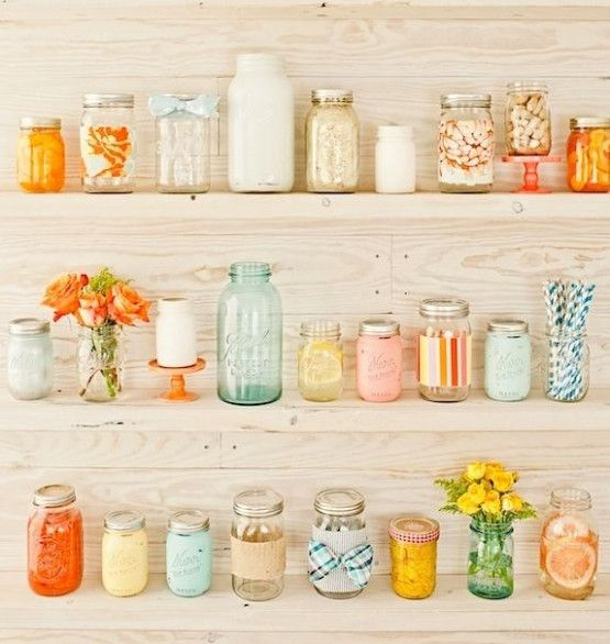 Southern Wedding Food Mason Jars