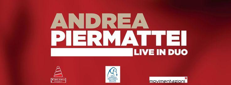 2/4 #AndreaPiermattei Live in Duo @ Babilonia - durante la serata raccolta fondi a favore di #LegadelCane #Pescara