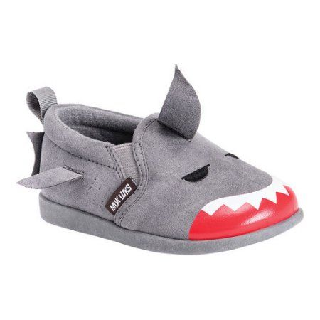 Children's MUK Luks Finn the Shark Shoe, Toddler Boy's, Size: 10, Gray