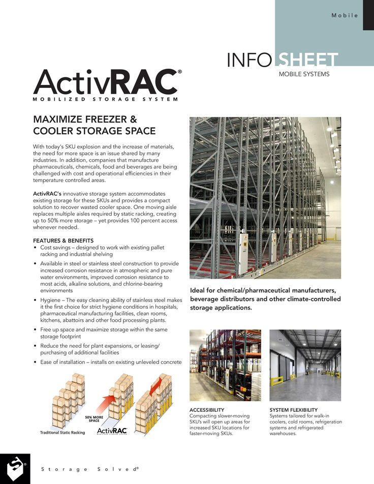 Free Download: ActivRAC Cooler Info Sheet