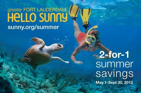 2-for-1 Summer Offers May 1-September 30, 2013
