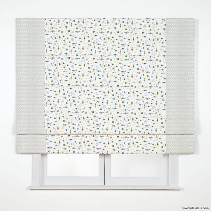 Mejores 171 im genes de estores y cortinas infantiles - Como hacer un estor sin varillas ...