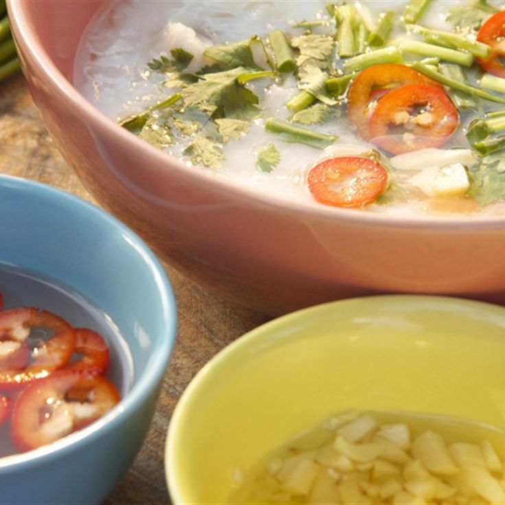 Try this Khao Thom Pla – Thai Breakfast Soup recipe by Chef Marion Grasby. This recipe is from the show Marion's Thailand.