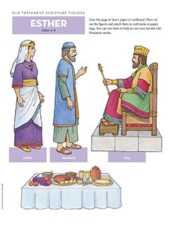 Old Testament Scripture Figures, Esther
