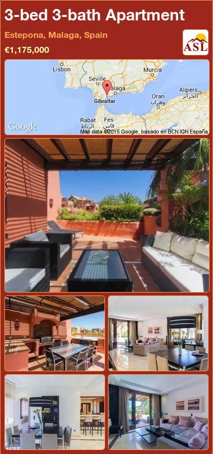 3-bed 3-bath Apartment in Estepona, Malaga, Spain ►€1,175,000 #PropertyForSaleInSpain