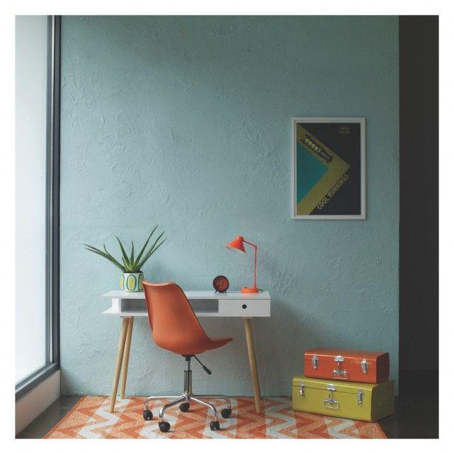 MAINE Medium orange and mist zig zag rug 140 x 200cm | Buy now at Habitat UK