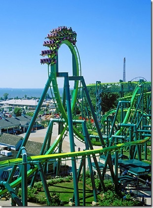 Cedar Point, OH ~~ favorite place ever. I'm really excited this came