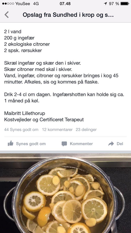 Ingefær shot
