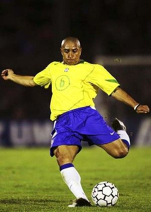 Brazilian great ... Roberto Carlos.