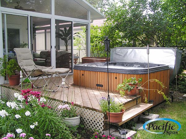 Pacific Spa backyard design