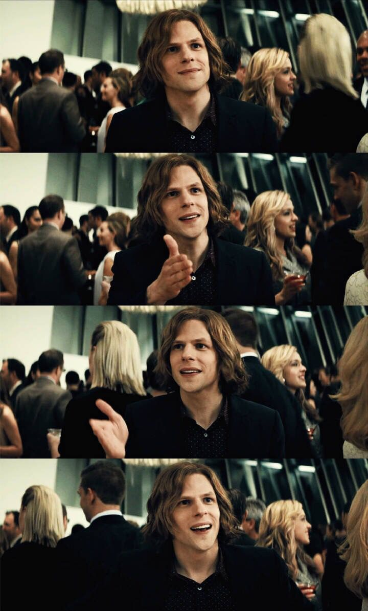 Jesse eisenberg, I freaking love him