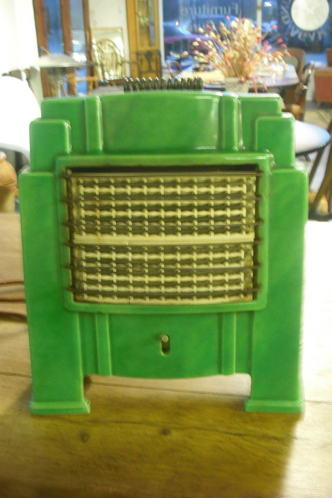Art Deco Electric Fire Early Electrical Appliances