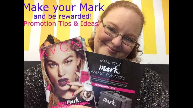 Mark Your Mark and be rewarded with Avon