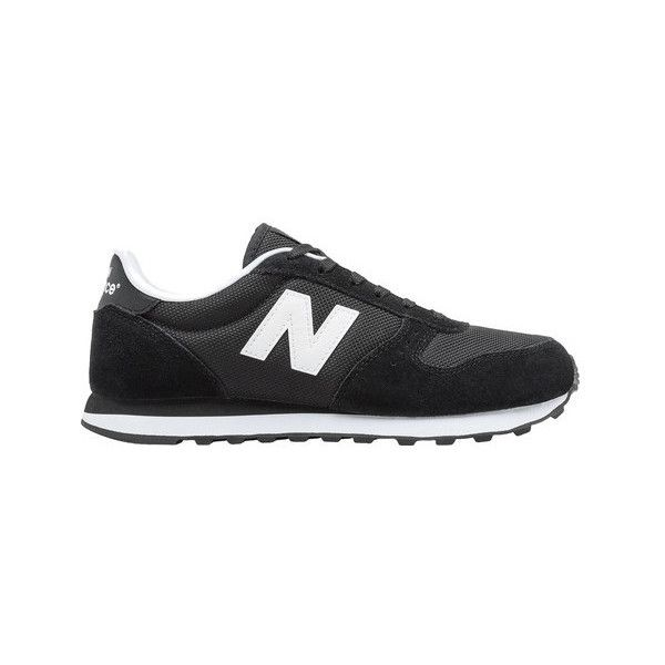 Women's New Balance 311v1 Classic Running Shoe (925 ZAR) ❤ liked on Polyvore featuring shoes, athletic shoes, athletic, black, sneakers, mesh running shoes, black laced shoes, mesh athletic shoes and athletic running shoes