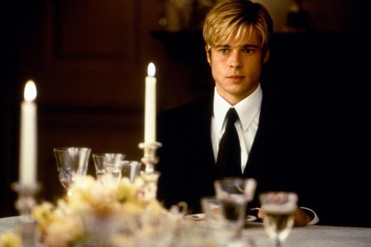 Brad Pitt as Joe Black - Joe Black (1998)Great Movie,  Tapered, Beautiful Men, 90S Movie, Joe Black, Meeting Joe, Angelina Jolie, Movie Character, Brad Pitt