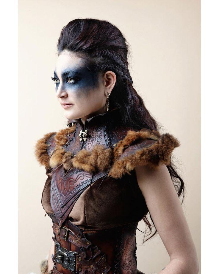 """Huntress"" — Photographer:Mark Hamilton Designer/Model:Kay Buchanan…"