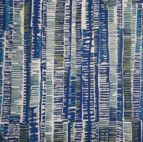 1950s 1960s David Whitehead Valerie Searle Rouilli fabric curtain vintage retro
